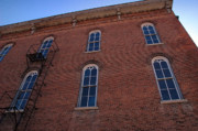 Brick Buildings Photo Prints - Brick Face Print by Ross Powell