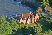 Residential Real Estate Aerial Photographs - Brick Turrets Newport by Duncan Pearson