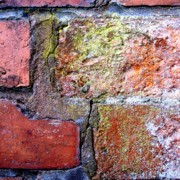 Abstract Acrylic Prints - Brick Wall by Roberto Alamino