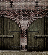 Cobblestones Photos - Brick Zipper by Odd Jeppesen