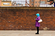 Hijab Art Posters - Bricked Phone Poster by Justin Albrecht