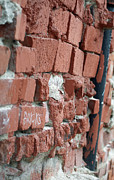 Brick Building Prints - Bricks Print by Gwyn Newcombe