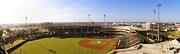 Baseball Art Print Art - Bricktown Ballpark by Ricky Barnard