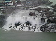 Melissa Photos - Bridal Veil Falls And American Falls Niagra by Melissa
