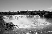 Waterfall Photos - Bridal Veil Falls At Niagara Falls by Stephanie Fysh