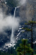 Jeff Lowe - Bridalveil Fall in Snow