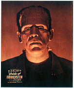 Bride Of Frankenstein Posters - Bride Of Frankenstein, Boris Karloff Poster by Everett