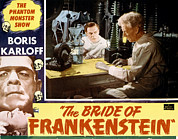 Lobbycard Prints - Bride Of Frankenstein, Colin Clive Print by Everett