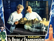 Lobbycard Prints - Bride Of Frankenstein, Ernest Thesiger Print by Everett