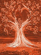 First Love Prints - Brides Tree autumn Print by First Star Art