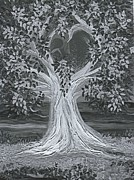 First Love Prints - Brides Tree goth by jrr Print by First Star Art