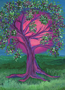 Bridesmaid Paintings - Bridesmaid Tree by First Star Art