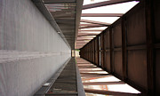 Rectangles Photos - Bridge Abstract by Kristin Elmquist