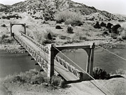 Alamos Photo Posters - Bridge At Otowi, New Mexico, Usa Poster by Los Alamos National Laboratory