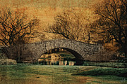 Central Park Digital Art Prints - Bridge from the Past Print by Nishanth Gopinathan