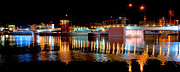 Green Bay Prints - Bridge Lights On The Fox Print by Shutter Happens Photography