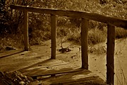 Old Bridge Photos - Bridge by Odd Jeppesen