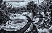 Shelburne Falls Prints - Bridge of Flowers Print by Tom Singleton