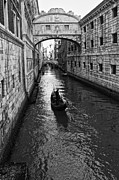 Gondolier Prints - Bridge of Sighs Print by Kurt Golgart