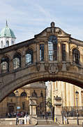 Outdoor Theater Prints - Bridge of Sighs Oxford Print by Andrew  Michael