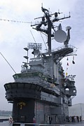 Intrepid Art - Bridge Of Uss Intrepid Aircraft Carrier. by Mark Williamson
