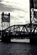 Stillwater Art - Bridge Over Blackened Water by Giliane Mansfeldt