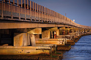 Rodanthe Prints - Bridge Over Oregon Inlet Print by Steven Ainsworth