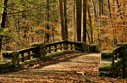 Landscape Photograpy Posters - Bridge over Pocantico Poster by Bedford Shore Photography