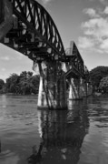 Kelly Jones Framed Prints - Bridge Over River Kwai Framed Print by Kelly Jones
