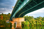 Monongahela River Framed Prints - Bridge Over The Monongahela Framed Print by Steven Ainsworth