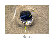 Sand Art Prints - Bridge Print by Peter Tellone