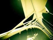 Looming Prints - Bridge structure in perspective. Print by Emilio Lovisa