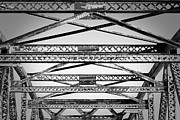 Seacoast Prints - Bridge Truss Print by Eric Gendron