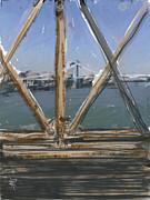 Bridge View Print by Russell Pierce