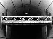 Large Scale Framed Prints - Bridge Wind Tunnel Test, 1954 Framed Print by National Physical Laboratory (c) Crown Copyright
