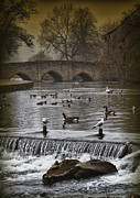 Peak District Posters - Bridge.d. Poster by Russell Styles