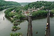 Harpers Ferry Photos - Bridges At The Confluence by Joel Sartore