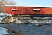 Bridgeton Covered Bridge Art - Bridgeton Bridge by Jeff VanDyke