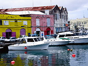 Travel Photography Originals - Bridgetown Barbados by Sophie Vigneault