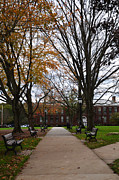 Schools Metal Prints - Bridgewater State University Metal Print by Amanda Vouglas