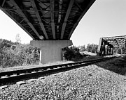 Train Tracks Photo Originals - Bridging the Gaps by Jan Faul
