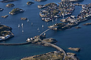 Lofoten Islands Photos - Bridging the Ocean by Heiko Koehrer-Wagner