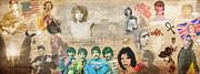Brief History Of Rock'n'roll Print by Stephen Walker