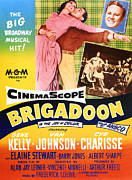 Films By Vincente Minnelli Posters - Brigadoon, Top From Left Cyd Charisse Poster by Everett