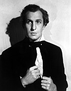 1940 Movies Photos - Brigham Young, Vincent Price, 1940 by Everett
