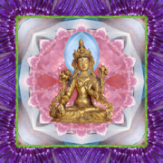 Tibetan Buddhism Metal Prints - Bright Ally Metal Print by Bell And Todd