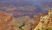 Grand Canyon Photos - Bright Angel Trail by Ricky Barnard
