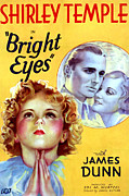 Dunn Framed Prints - Bright Eyes, Shirley Temple, James Framed Print by Everett