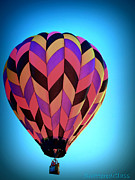 ShatteredGlass Photography  - Bright Hot Air Balloon