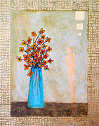 Gold Foil Paintings - Bright Morning by Pat Stacy